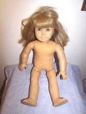 "PLEASANT COMPANY AMERICAN GIRL DOLL KIRSTEN BLOND HAIR BLUE EYES 18"""
