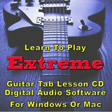 Extreme Tab Lesson CD Software - 67 Songs