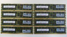 32GB (8x4GB)  PC3-10600R  DDR3 1333MHz Reg ECC    HP DELL IBM Lenovo Apple