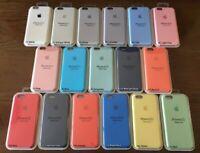 Funda de silicona logo original Para iPhone 11 Max 11 Pro Max XR 8 7 6 Plus