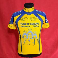 SMS Santini Italy Tour Europe 2006 Cycling Body Jersey t-shirt Zip Size L 48