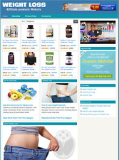 WEIGHT LOSS WEBSITE - Affiliate Information Website For Sale - Free Installation