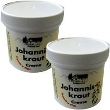 (19,98€/l) 2x Johanniskraut Creme 250 ml - sorgt für eine schonende Hautpflege!