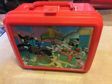 Power Rangers 1994 Saban Lunchbox & Thermos Plastic