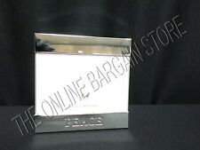 Pottery Barn Christmas Silver Plated Peace Sentiment Picture Photo Frame 6x4