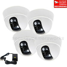 4x Security Cameras Wide Angle Lens with 1/3'' Sony Effio CCD Surveillance b1n