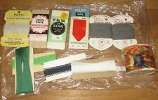 VINTAGE CRAFT SEWING SUPPLIES LOT