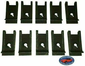 NOS Ford Lincoln Mercury Factory Correct #8 Screw Bolt U Clip Panel J Nut 10pc T