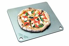 """NerdChef Steel Stone - High-Performance Baking Surface for Pizza (.25"""" Thick - S"""