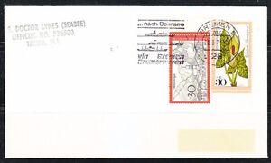 Germany 1978 brief cover via Bremen Bremenhaven ship cancel