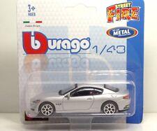 "Bburago 30001 MASERATI Gran Turismo ""Silver"" - METAL Scala 1:43"