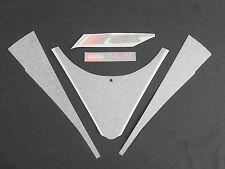 BRAND NEW GENUINE APRILIA RS 125 2004 FRONT FAIRING DECAL SET AP8166411 (CH)