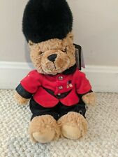 Harrods Guardsman 14 Inch Tall Plush Teddy Bear-Brand New With Tag-Free Shipping