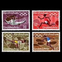 Liechtenstein 1972 - Olympic Games - Munich, Germany - Sc 496/9 MNH