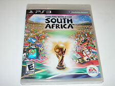 2010 FIFA World Cup: South Africa (Sony PlayStation 3, PS3 2010)  **NEW SEALED**