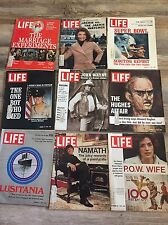 Vintage LIFE Magazine Lot Of 31 From The Year 1972 Used