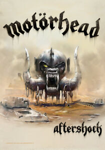 "Motorhead Fabric Poster Flag 30"" x 43"" Aftershock"