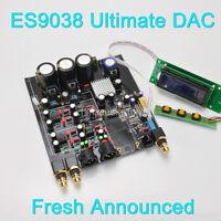 ES9038PRO Ulitmate DSD DAC LCD Display Successor of ES9028 DAC,Amanero/XMOS USB