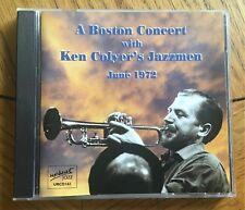 Ken Colyer's Jazzmen - A Boston Concert with, June 1972 CD Upbeat Jazz Recs