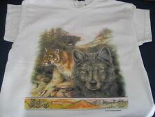 WOLF & WILD CAT TEE  SHIRT