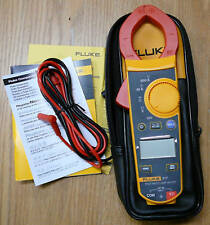 New FLUKE clamp Meter 317 true-rms 37mm AC DC 6000 0.01