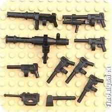 Lego 10 Automatic Round Magazine Tommy Guns (Set D) NEW
