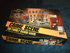 CRIME SCENE--THE FAMILY BOARD GAME BY IDEAL 2010