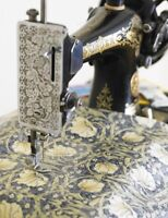William Morris Pimpernel  Cream Heavy Weight Floral Cotton Fabric By Half Metre