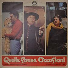 """EAST - COLONNA SONORA - QUELLE STRANE OCCASIONI - PIERO PICCIONI 12"""" LP (N300)"""