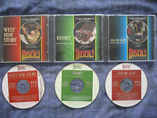 3 x THE MUSICALS COLLECTION.1.WEST SIDE STORY.14.KISMET.15.KISS ME KATE.(CDs).