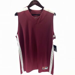 NIKE Men's Red Basketball Jersey XL NEW