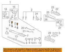 HONDA OEM Steering Gear-Mount Bracket Mount Bushing 53685STKA01