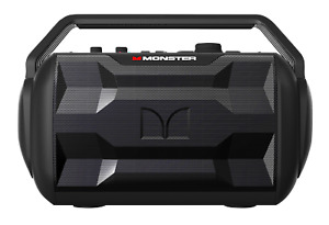Monster Nomad Bluetooth Speaker, Black