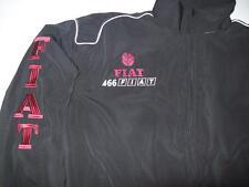 NEU FIAT 466 Traktor Fan-Jacke schwarz (weinrot) veste jacket jas giacca jakka