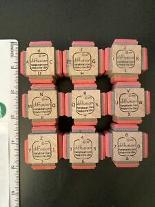 Numbers & Letters Rubber Stamps-Hampton Art-Diffusion