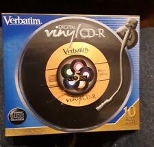 Nice Pack of 10 Verbatim  5 Colors DVD-R Discs Factory Sealed