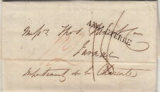 Lettre Angleterre London 1820 pour Jarnac Cover Brief