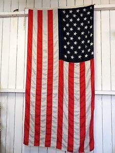 Drapeau Américain en tissu coton polyester 70/80's
