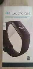 Fitbit Charge 3 Smart Watch Heart Rate/Fitness Tracker- black
