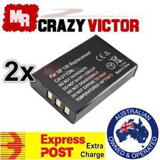 2x NEW NP-120 Battery for FUJIFILM Fuji FinePix F10 F11 603 M603 Zoom BP-1500S