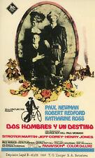 PAUL NEWMAN BUTCH CASSIDY AND THE SUNDANCE KID 1969 SPANISH HERALD VINTAGE