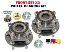 FOR SUBARU BRZ 2012-->ON 2.0 COUPE NEW FRONT SET WHEEL BEARING X2