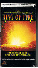 IMAX-Ring of Fire(VHS, 2000)IMAX LARGE FORMAT[CLOSEST EVER TO VOLCANO]NEW~SEALED