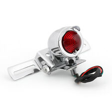 New Motorcycle Brake Stop Rear Tail Light Taillight Indicator Signal Lamp/Chrome