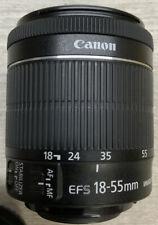 ✅ Canon EF-S 18-55mm f/4-5.6 Lens Macro 0.25/0.8ft