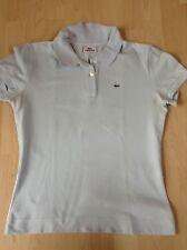 Lacoste Damen-Poloshirt hellblau, Größe 44 Original