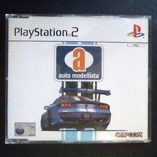 promo AUTO MODELLISTA PlayStation 2 UK PAL English・♔・RACING CAPCOM PS2 CEL SHADE