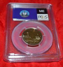2003 S PCGS PF 69 DCAM  MAINE STATE QUARTER CLAD (B160)
