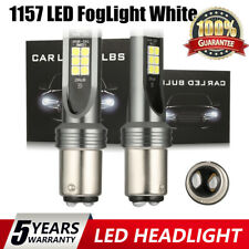 1157 LED Fog Light Bulbs Front Back Up Reverse Lights White High Power Headlight