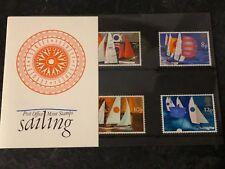 1975 GB Royal Mail Presentation Pack - Sailing  (Pack #71)  *MINT*